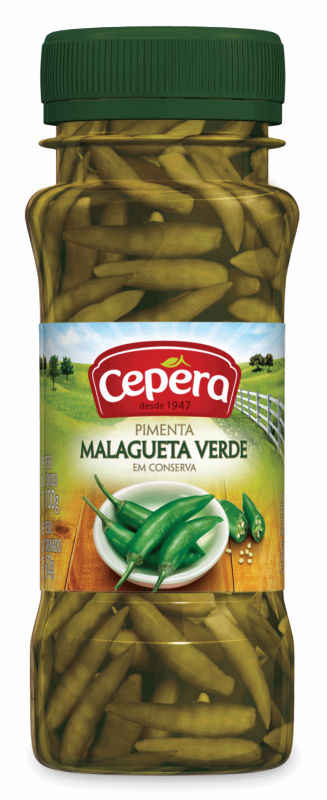 Green Malagueta Pepper 50g
