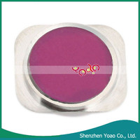 Bright Purple Color Replacement Home Button Sticker for iphone 5s