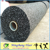 Fitness Gym Crossfit Rubber Flooring in rolls