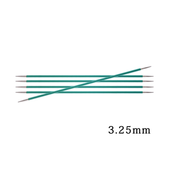 1 piece Knitpro Colorful Aluminium Zing 20 cm double pointed knitting needle 2.00-8.00mm