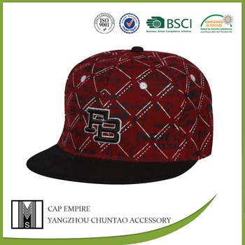 BSCI audit cheap and modern fashion young people new fitted cap