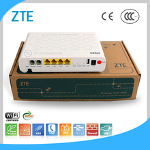 VoIP + Internet + IPTV High Reliability ZTE CATV GPON ONU Mall Fiber Optic ONU GPON Modem ZXHN F660