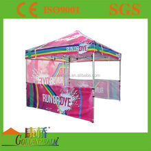 outdoor trade show event advertise fold canopy
