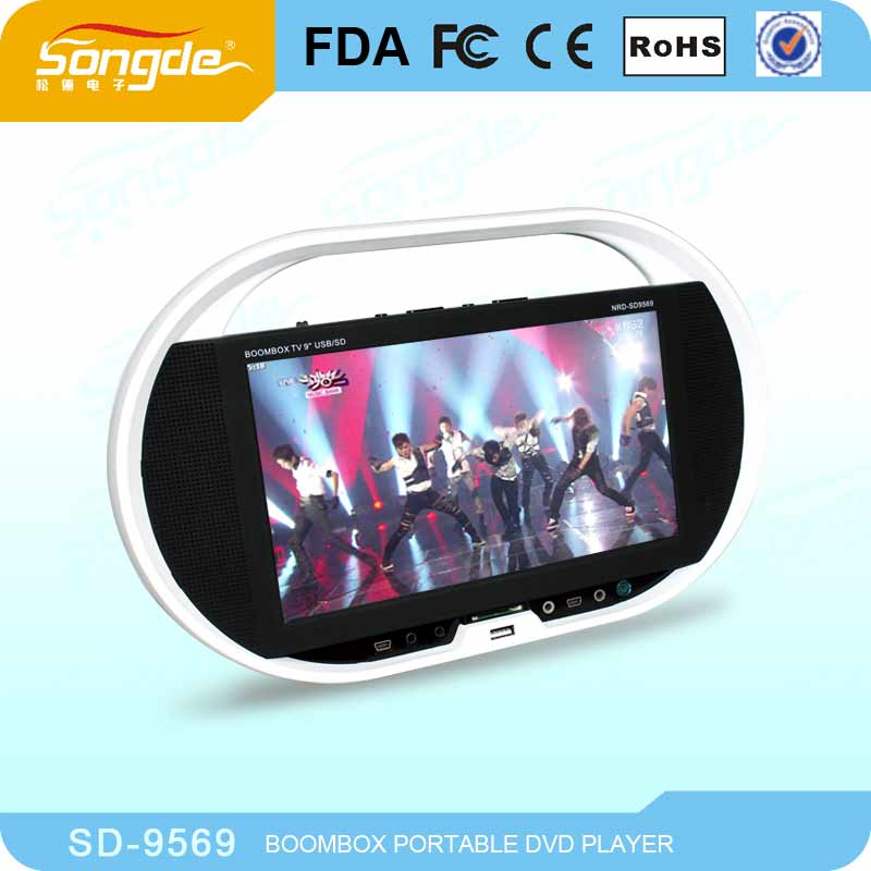 Digital Panel Cheap Portable DVD Player Electronic Products
