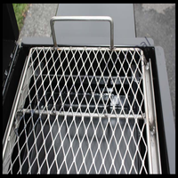 stainless steel bbq grill expanded metal mesh
