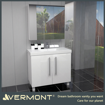 2017 Economical custom design modern bathroom cabinets