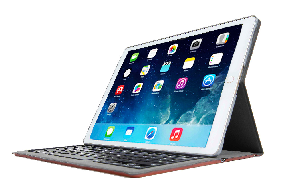 Wireless Bluetooth keyboard with TPU case for 12.9 ipad Pro