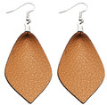 Modern leather earrings elegant small leather earrings super star favorit leather earring