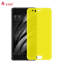 2018 Nano Edge Cheap Cell Phone Accessories Full Screen Cover 3D Curved Tpu Protective Film for Xiaomi Mi6 Screen Protector