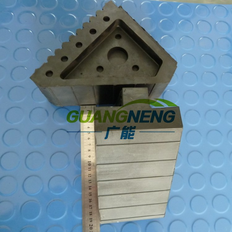 PU Car/Truck Wheel Chock, PU Tire Chock, Rubber Cable Coupling