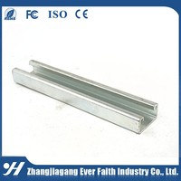 China Manufacturer Hot Dip Carbon Steel Channel