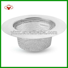 Wide Edge Stainless Steel Sink Floor Drain Sink Strainer