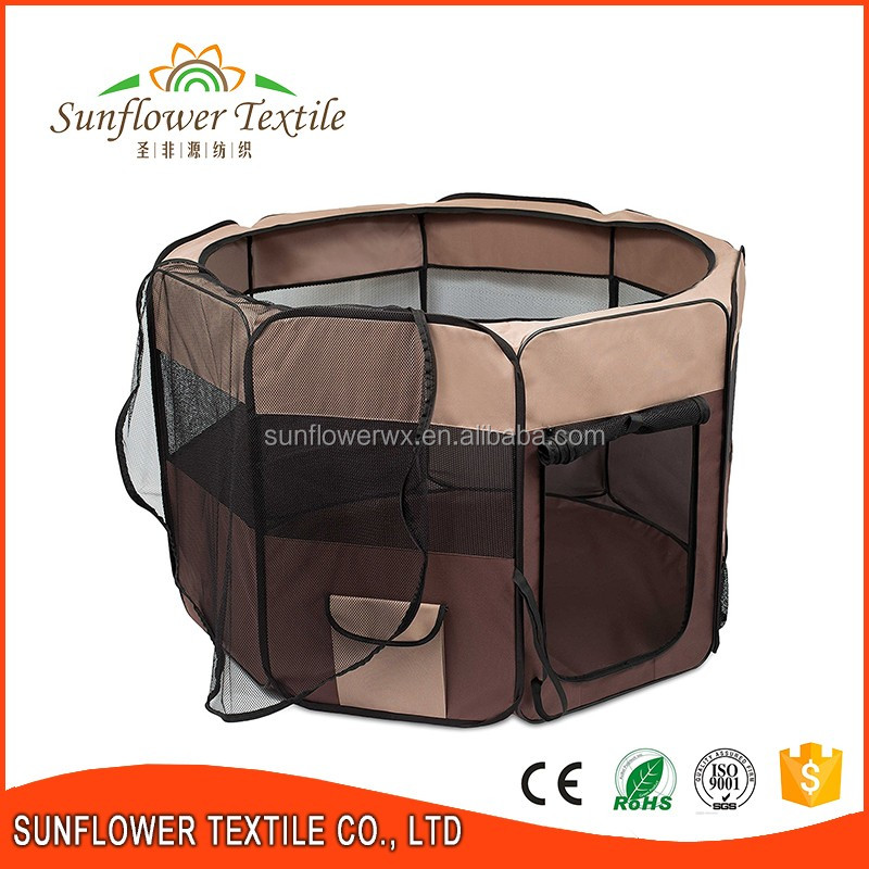 Collapsible pet dog playpen/Pet Folding Pet outdoor playpen/cage