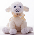 Mini Sheep Plush Toys / Plush Cute White Sheep Toy / Plush Sheep Animal Toy