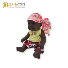 16 inch African silicone reborn wholesale black baby dolls