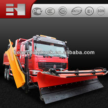 2015 new high quality famous truck SINOTRUK Snow removal truck hot sale