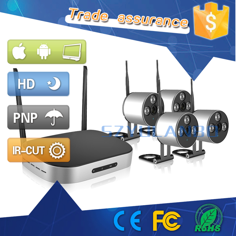 ip wireless wifi very very small hidden camera kits with nvr