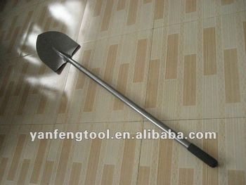 very popular steel handle shovel S518L