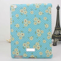 for Apple ipad 2/3/4 floral series back case for ipad 4 hard case protector