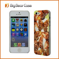China supplier animal shaped for iphone 5 cases machine print shell phone