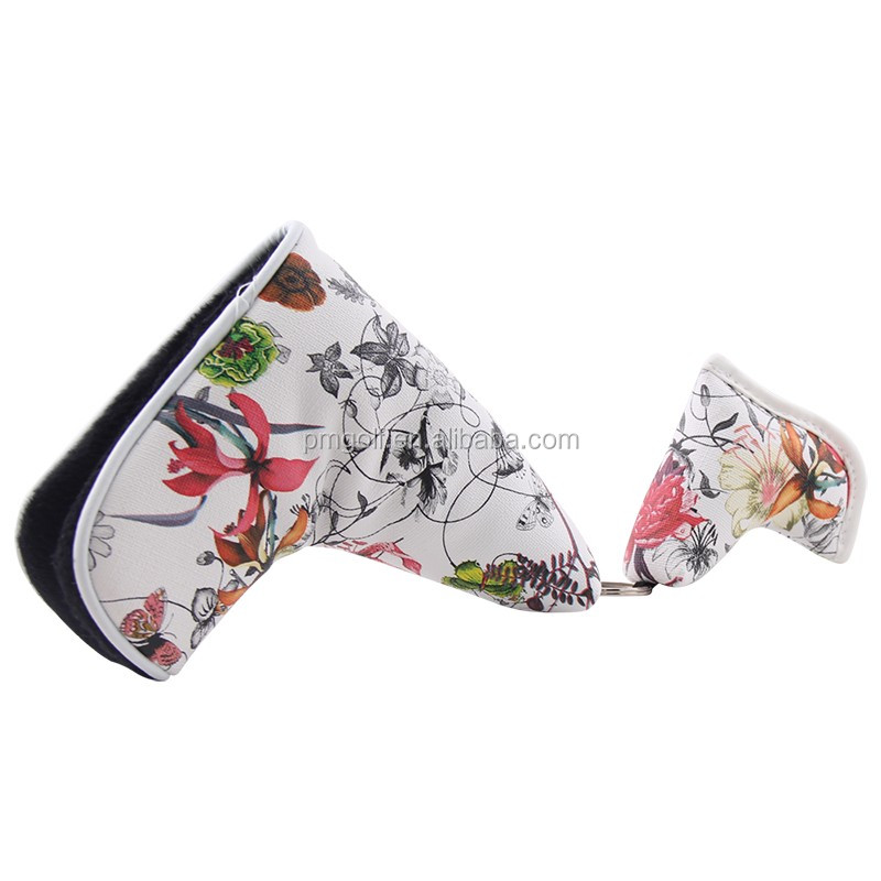 2016 New PU Leather Golf Blade Cover for Scotty Cameron Taylormade Odysse Putter Headcover