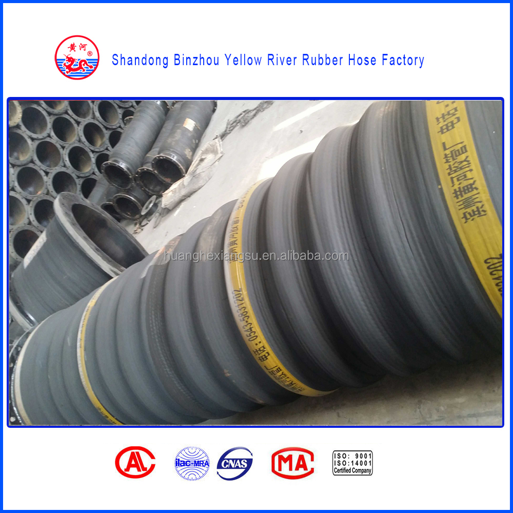 Manufacture Large Diameter Dredging Suction Rubber Joint Hose