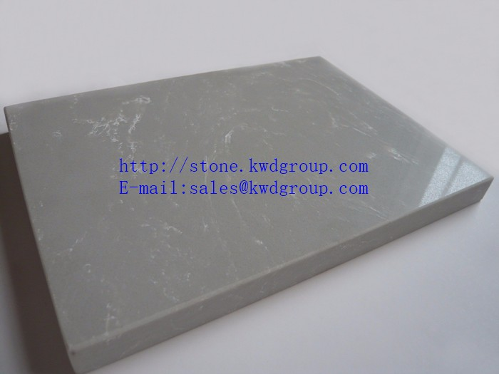 Multifunctional white veined quartz stone made in China
