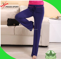 quality solid sublimation yoga pants supplier in China