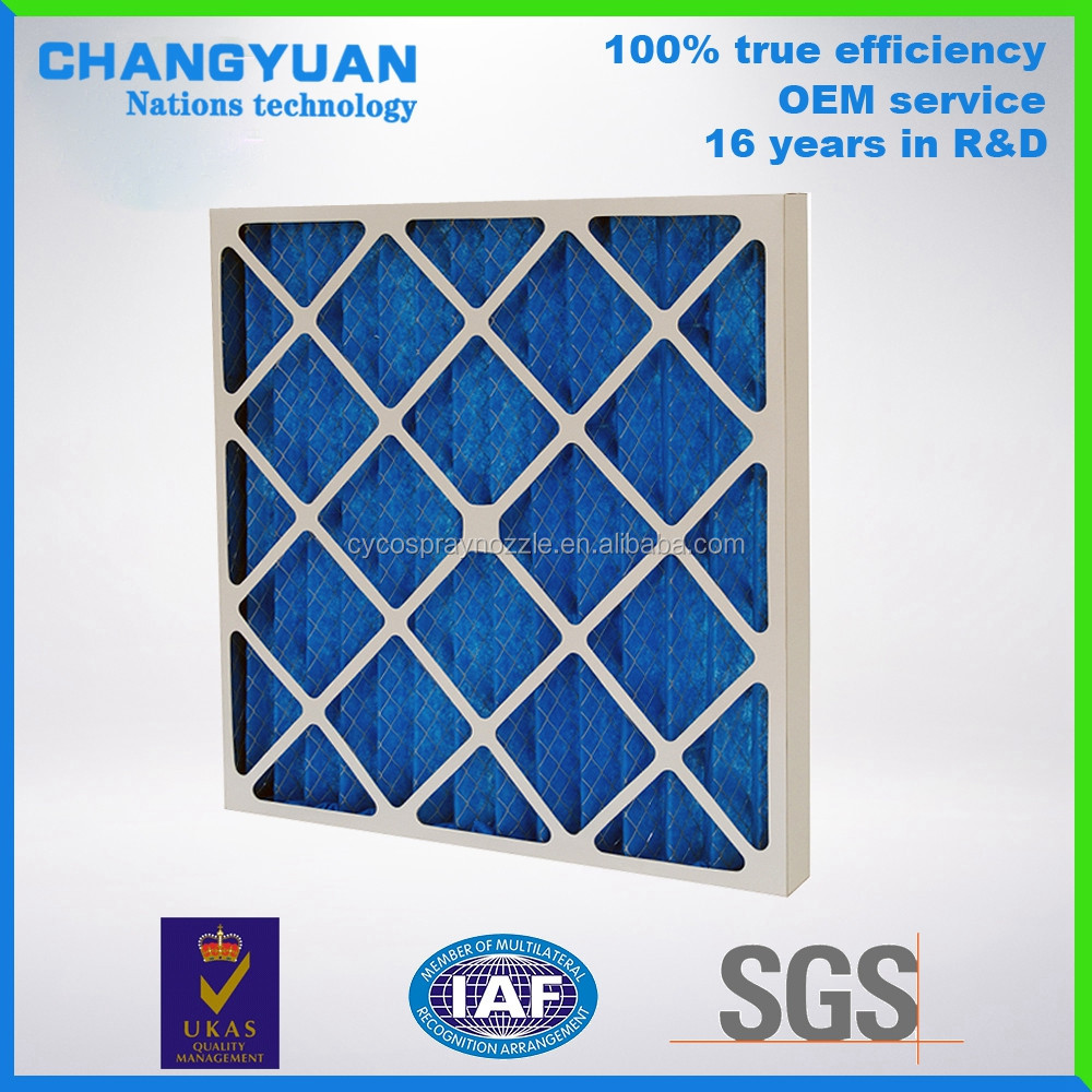 G3 Aluminum Air Filter, air filters for dust Collector ,Home Air Pre Filter