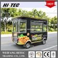 Fried Chicken Mobile Cart Elegant Edition Environmental Protected Electric Drive Mobile Food Cart For Multifunctions