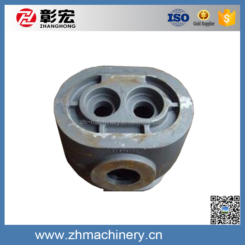 Fuselage/body, compressor parts custom processing, gray iron ductile iron parts
