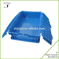 Small product packaging hinged plastic box