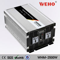 Off grid modified sine wave solar 220v 24v 3000w power inverter with charger