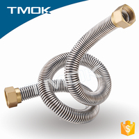 brass copper stainless steel 316 304 pipe fittings for gas water air condition bellows flow hose cock in TMOK