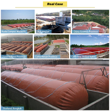 Veniceton China Portable PVC Methane Gas Tank