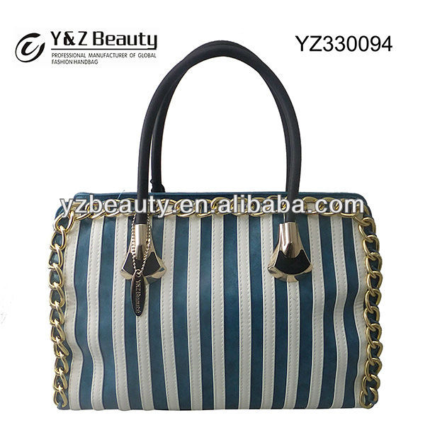 Wholesale Trend Leather Handbag Guangzhou New Model Ladies Purse Bag