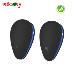 Latest new model fashionable design indoor pest control repeller ultrasonic insects repel with Night Light