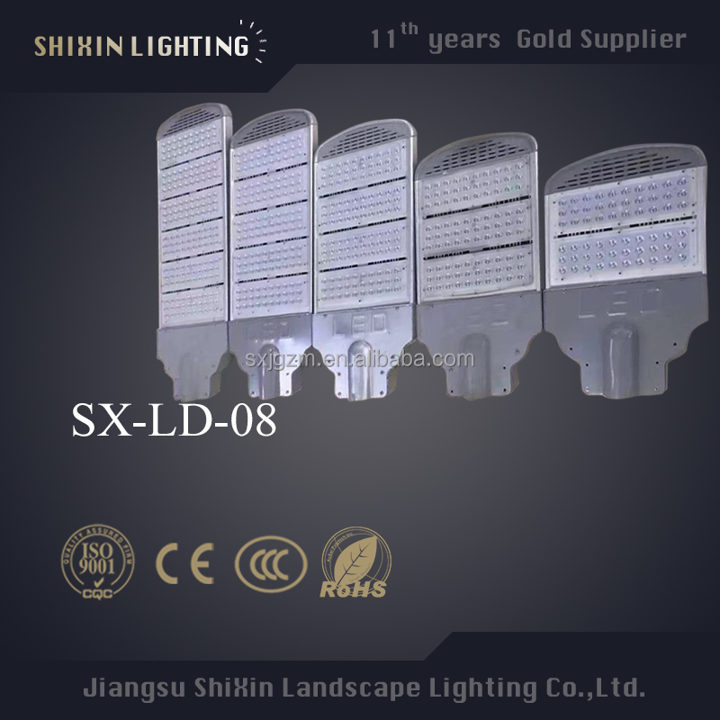 Top Quality led luminaire street light manufacturer with 3 years warranty
