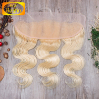 fast shipping 13x4 malaysian human hair blonde lace frontal alibaba wholesale