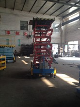Manufacturer Building Maintenance Hydraulic Beam Lifter Suspended Platform with