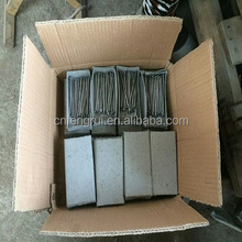 Spiral shank Galvanized concrete steel nails manufacturer from linyi fengrui