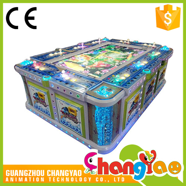 Arcade Fish Gambling Table Video Game Supplier