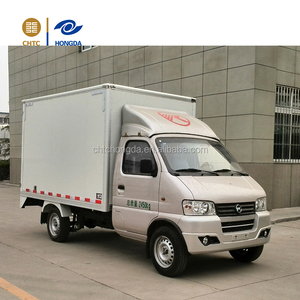 China mini 4*2 electric Van/cargo/box truck for sale