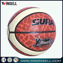 2015 adults basketball 14 panel custom basket ball