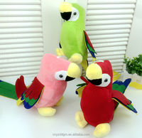 Plush Parrot Colorful Toy Valentine's day Soft Bird Present