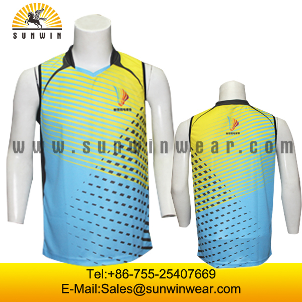 Best quality tennis sports wear mens and womens badminton for Women s dri fit polo shirts wholesale