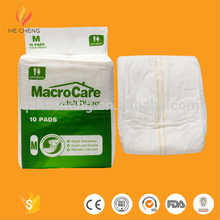 Ultra Thick Adult Diaper Printed, Cheap Adult Diapers Panties, Free Sample Adult Diapers For Old People