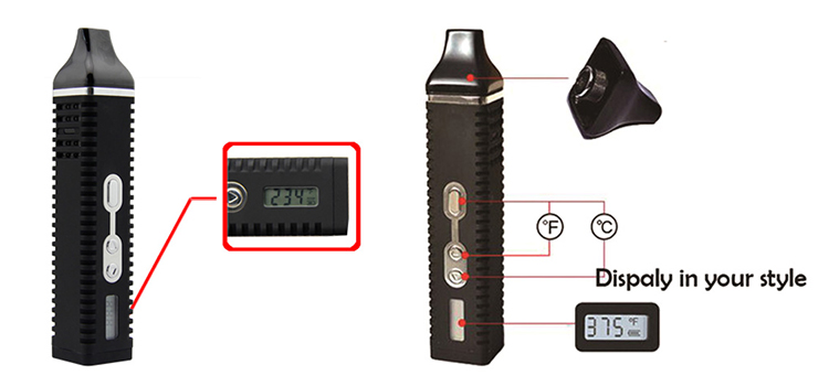 Cheap price china suppliers products  smoke electronic vape dry herb vaporizer