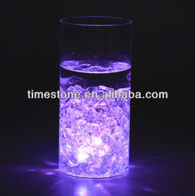 Color Changing Glow Gems Glass Vase
