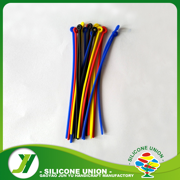 Wholesale silicone hold wire tightly cable ties